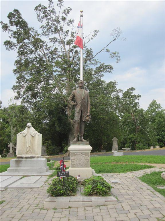 Jefferson Davis gravesite