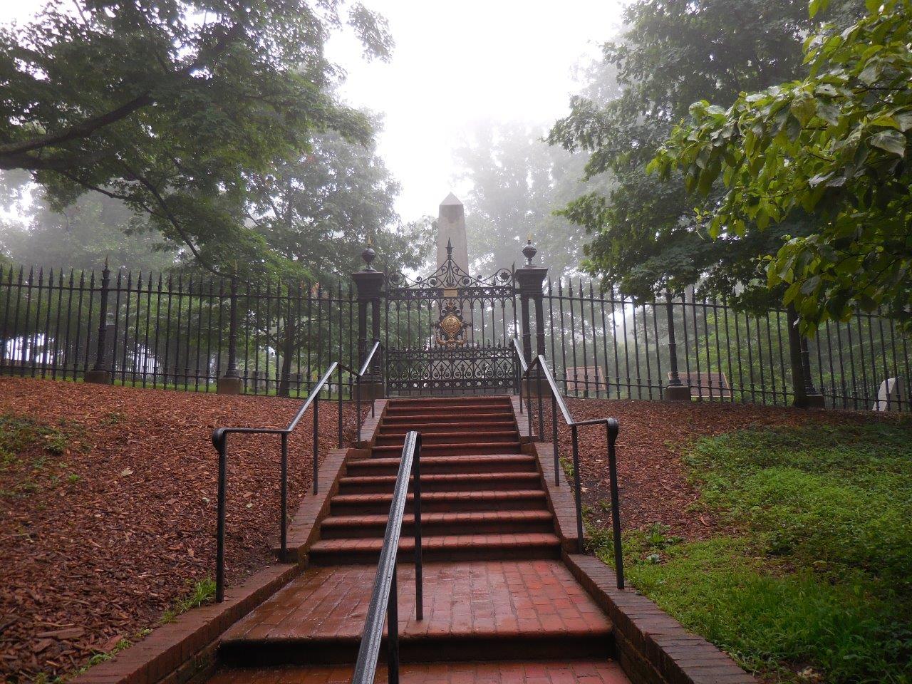 Monticello Graveyard - Jefferson Family Cemetery at Monticello