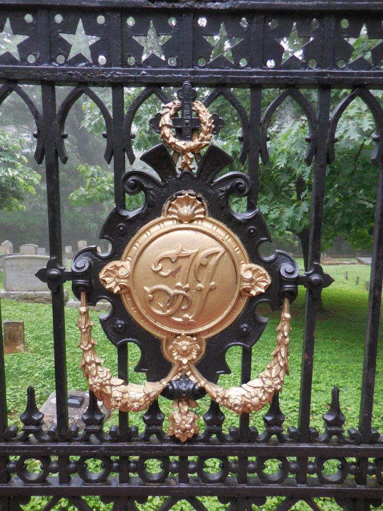 Monticello Cemetery gate