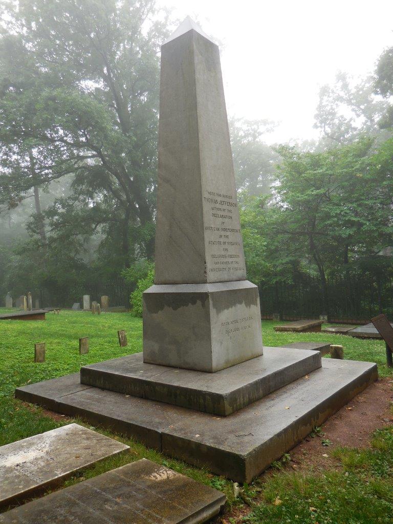 Thomas Jefferson gravesite