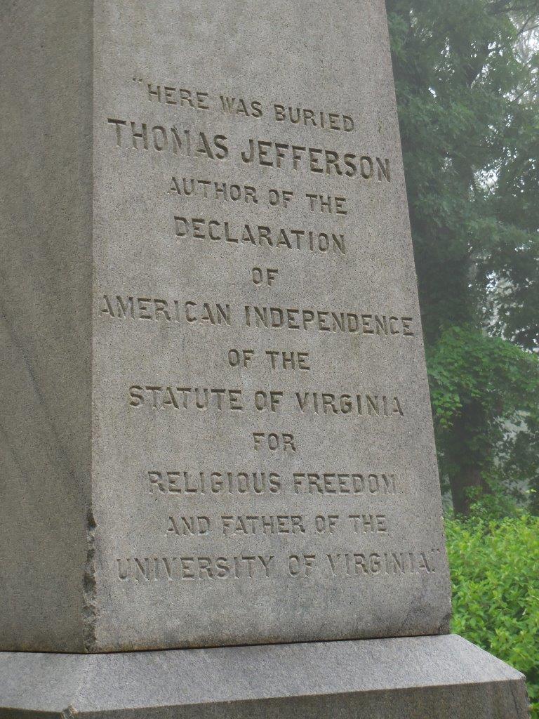Thomas Jefferson grave