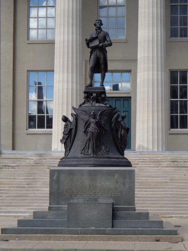 Thomas Jefferson statue in Louisville, Kentucky