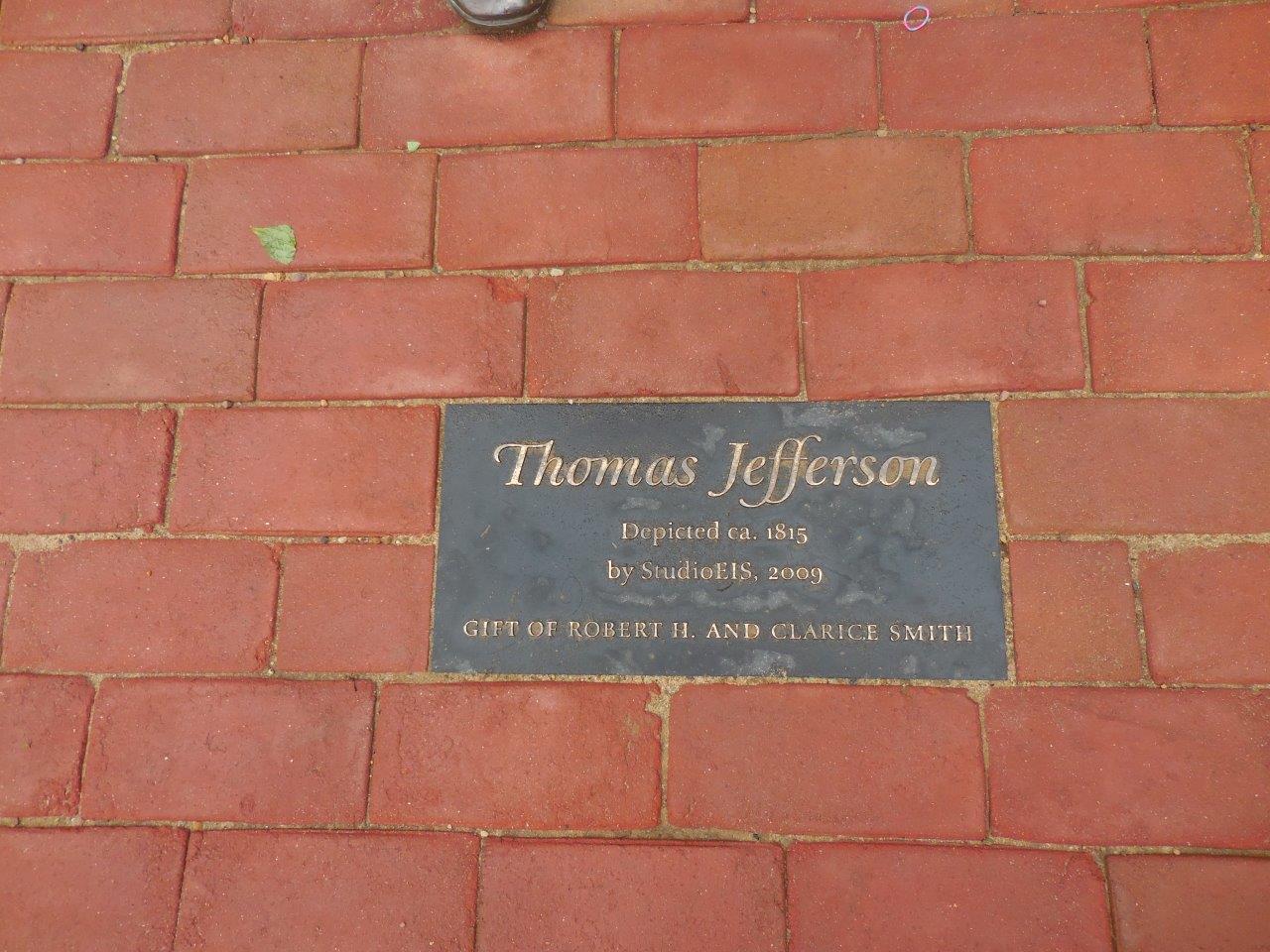 Thomas Jefferson Statue at Monticello