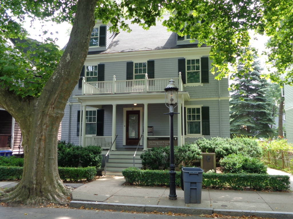 photo of John F. Kennedy's birthplace