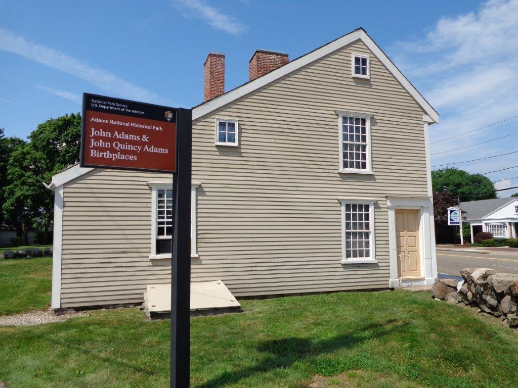 photo of John Quincy Adams birthplace