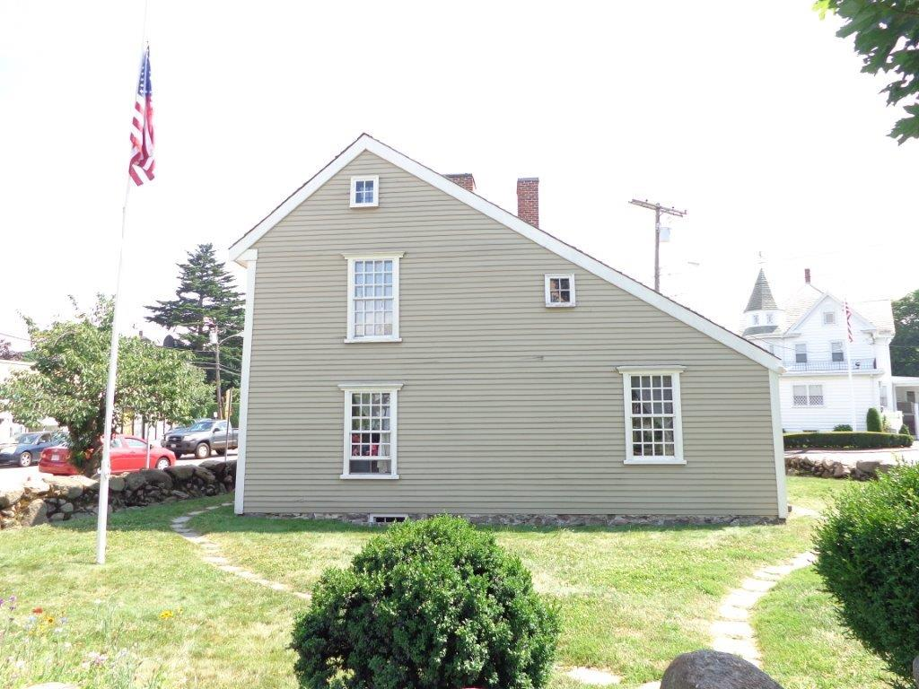 house in which John Quincy Adams was born