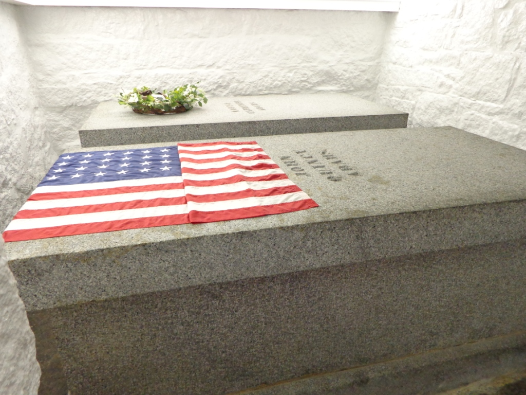 John Quincy Adams gravestone