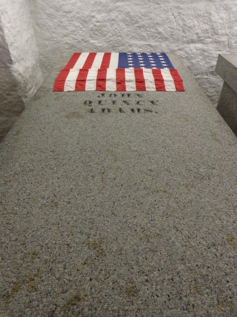 John Quincy Adams gravesite