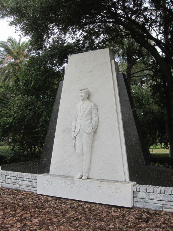 JFK Statue in Tampa, Florida