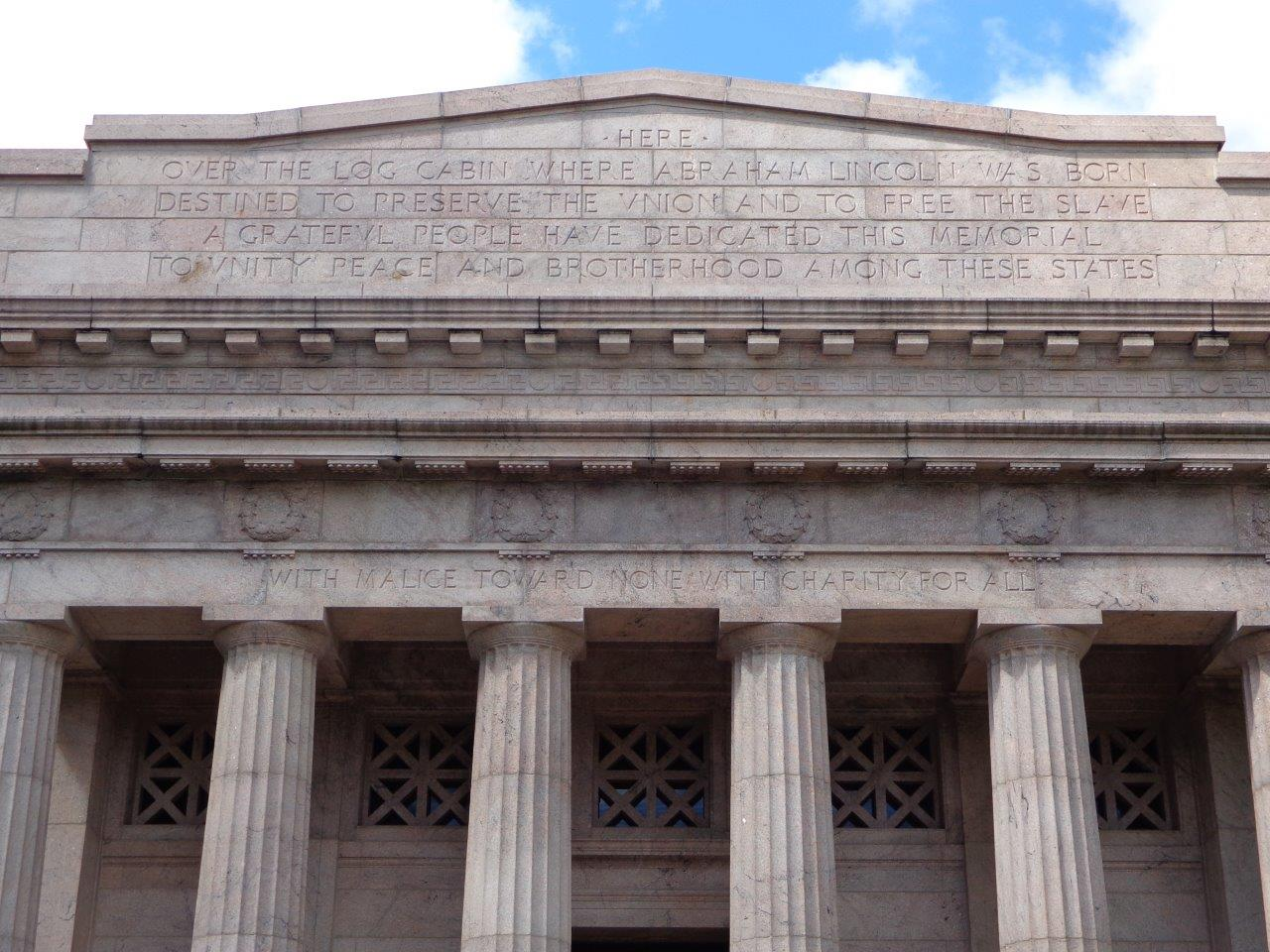 Abraham Lincoln birthplace memorial building