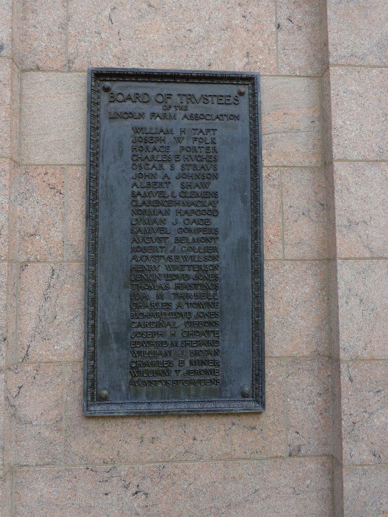 Abraham Lincoln birthplace marker