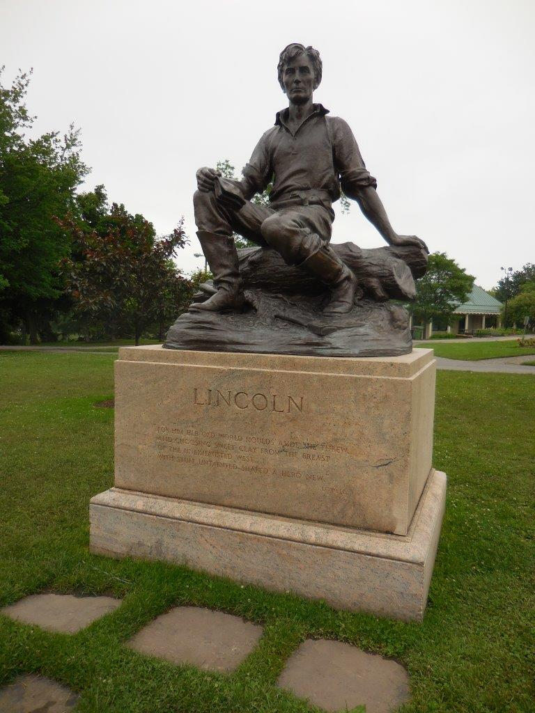 Abraham Lincoln statue in Buffalo