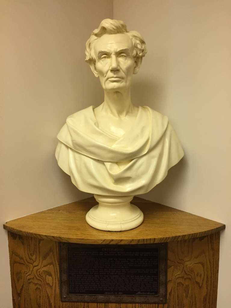 Abraham Lincoln Bust in Kearney, Nebraska