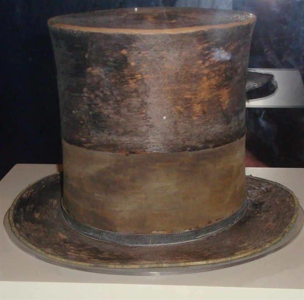 Abraham Lincoln's Hat at the National Museum of American History in Washington, DC