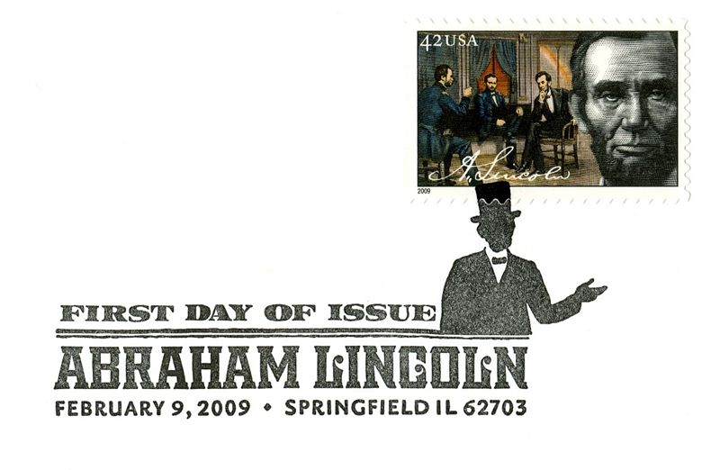 Lincoln President Stamp