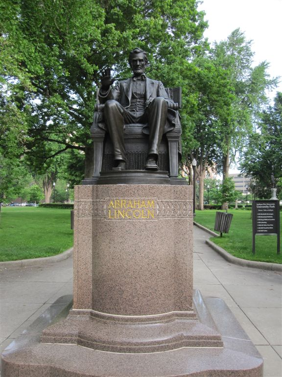 Lincoln statue Indianapolis