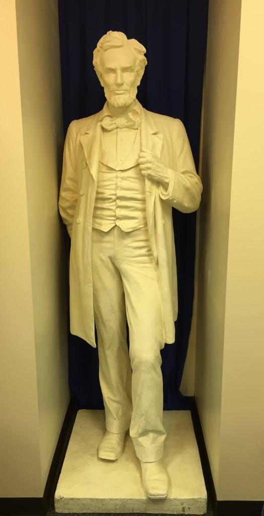 Abraham Lincoln Statue in Kearney, Nebraska