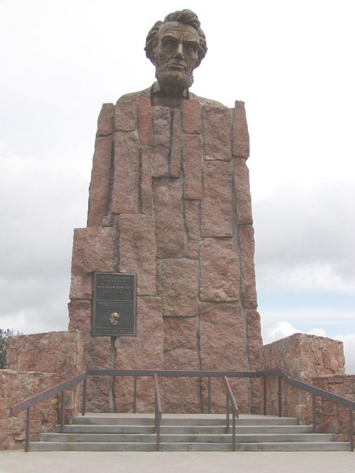 Lincoln monument Laramie, Wyoming