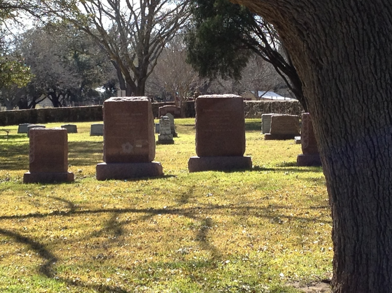 Lyndon Johnson gravesite
