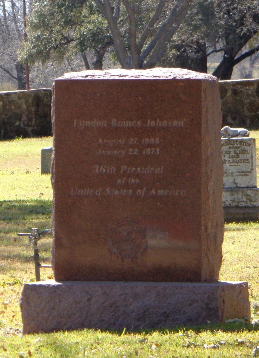 Lyndon Johnson grave