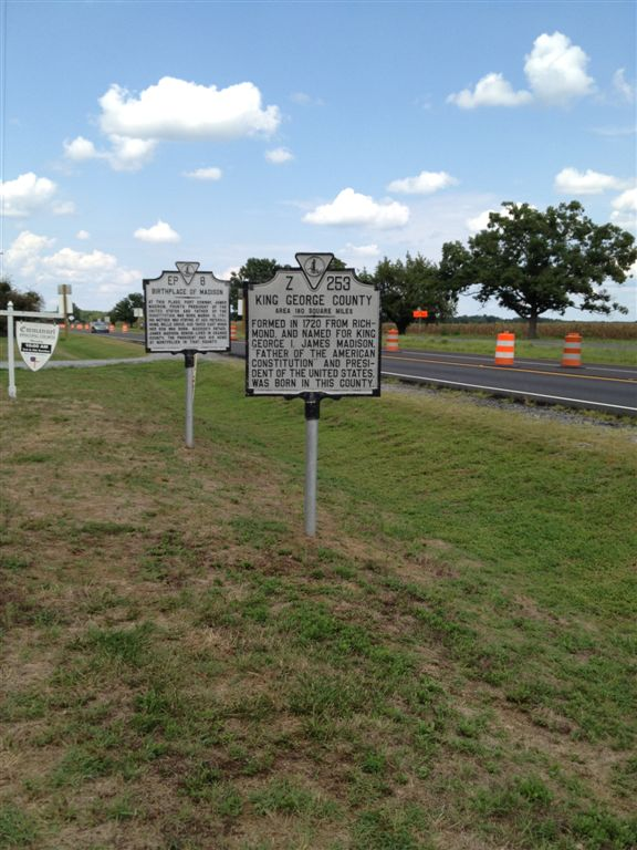 James Madison birthplace