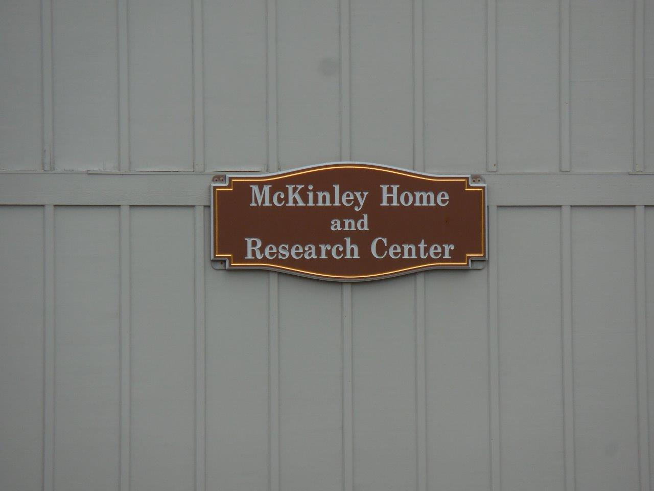 house where William McKinley was born