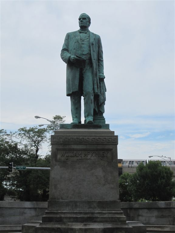 William McKinely Statue in Chicago