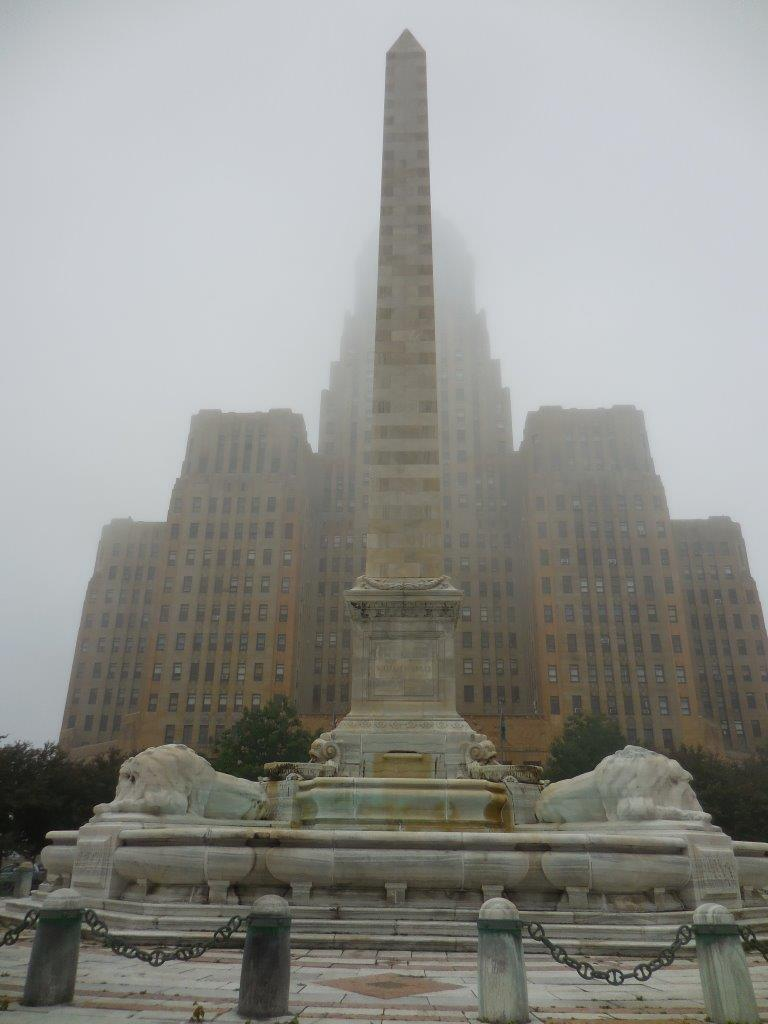 William McKinley monument in front of Buffalo City Hall