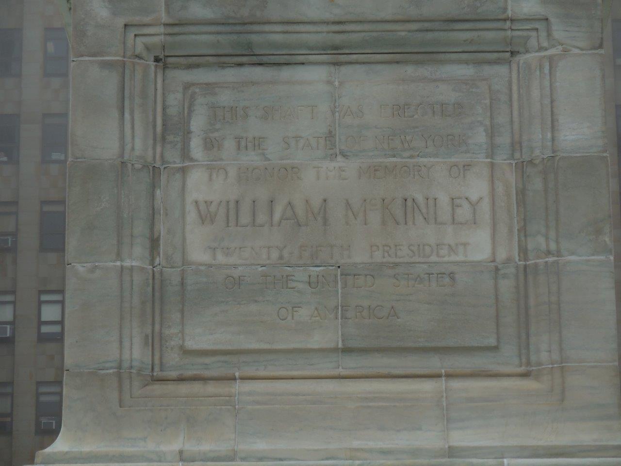 William McKinley monument