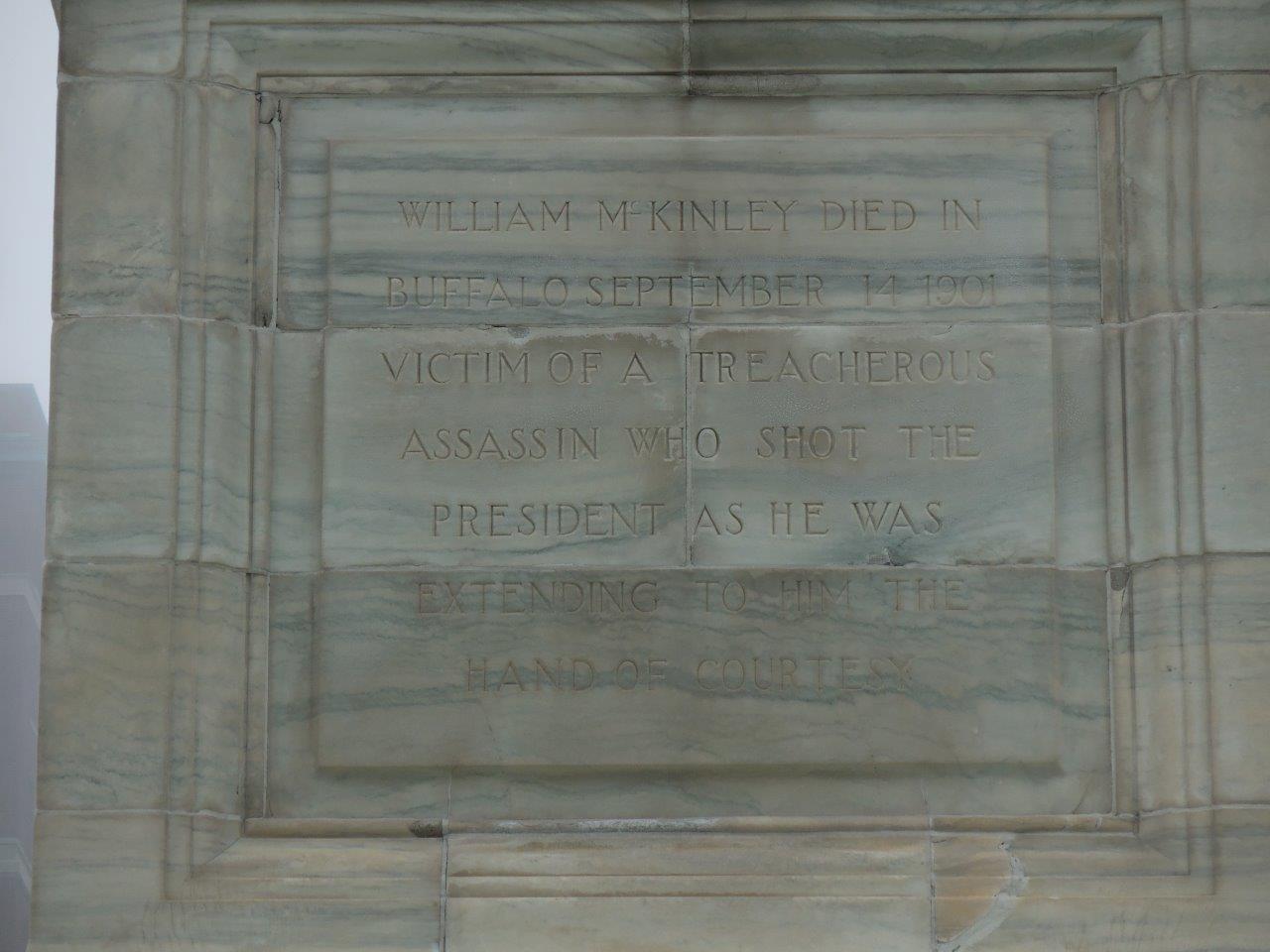 William McKinley monument Buffalo
