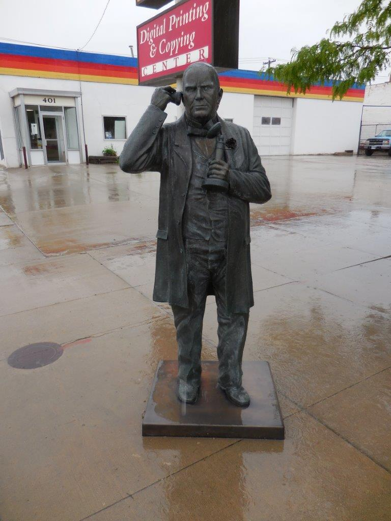 William McKinley statue in Rapid City, South Dakota