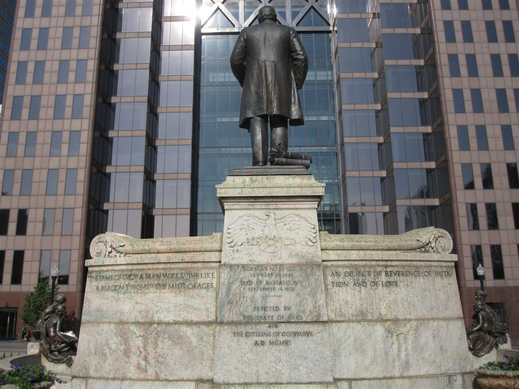 McKinley statue at the Ohio State Capitol