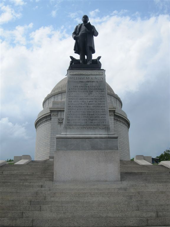 William McKinley gravesite