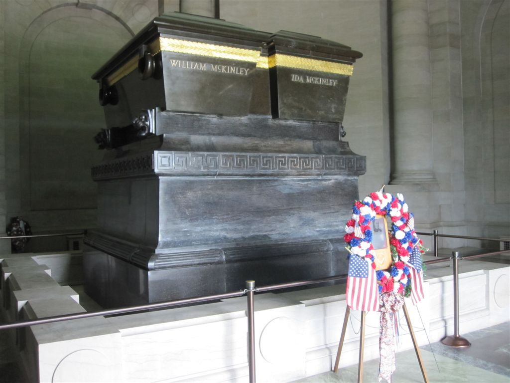 William McKinley grave
