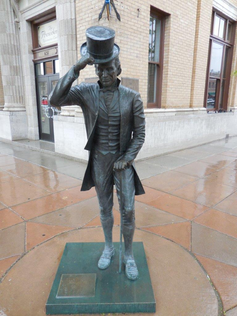 James Monroe statue in Rapid City, South Dakota