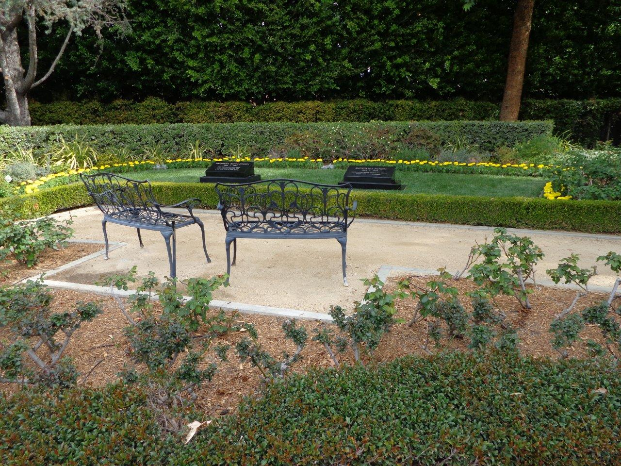 Richard Nixon gravesite