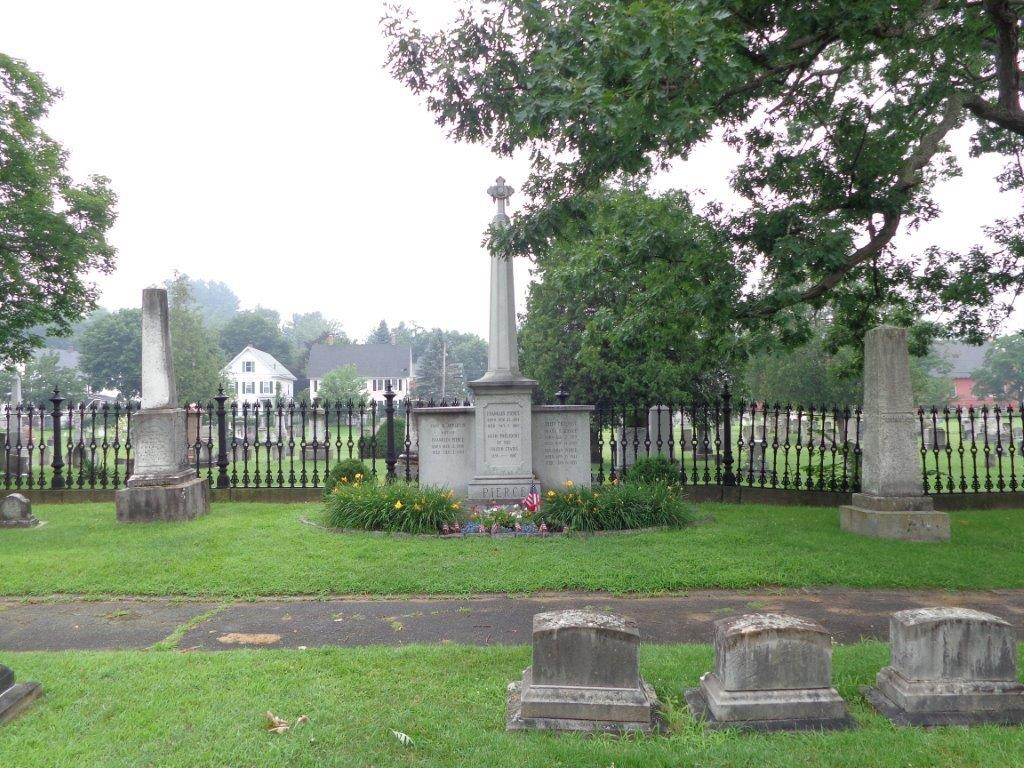 Franklin Pierce gravesite