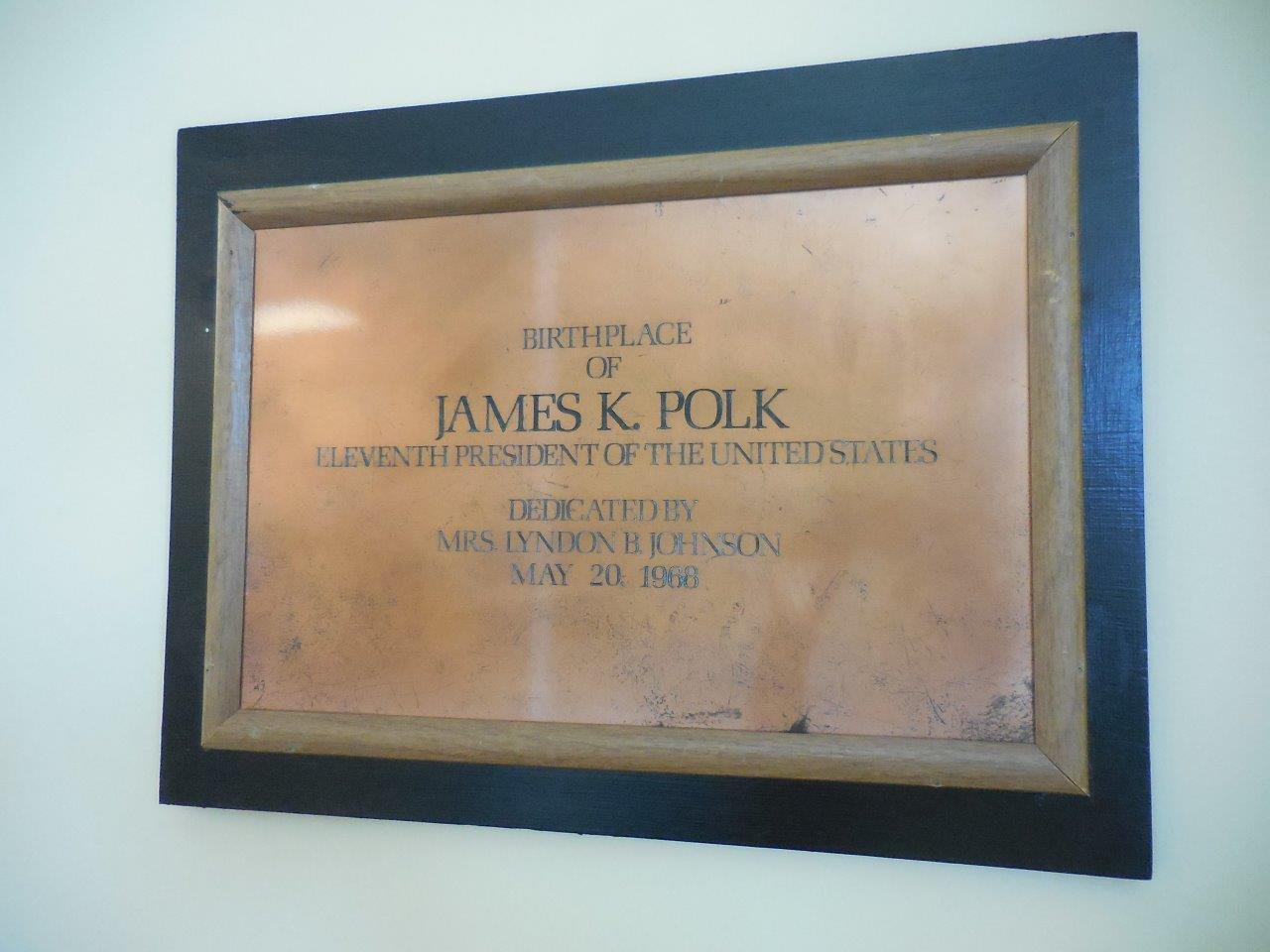 James Polk birthplace - Pineville, North Carolina