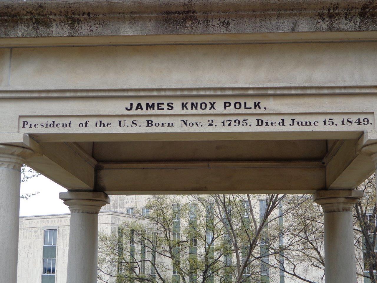 James Polk gravesite
