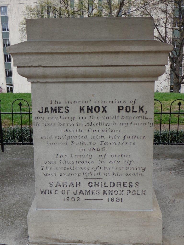 James K. Polk gravesite