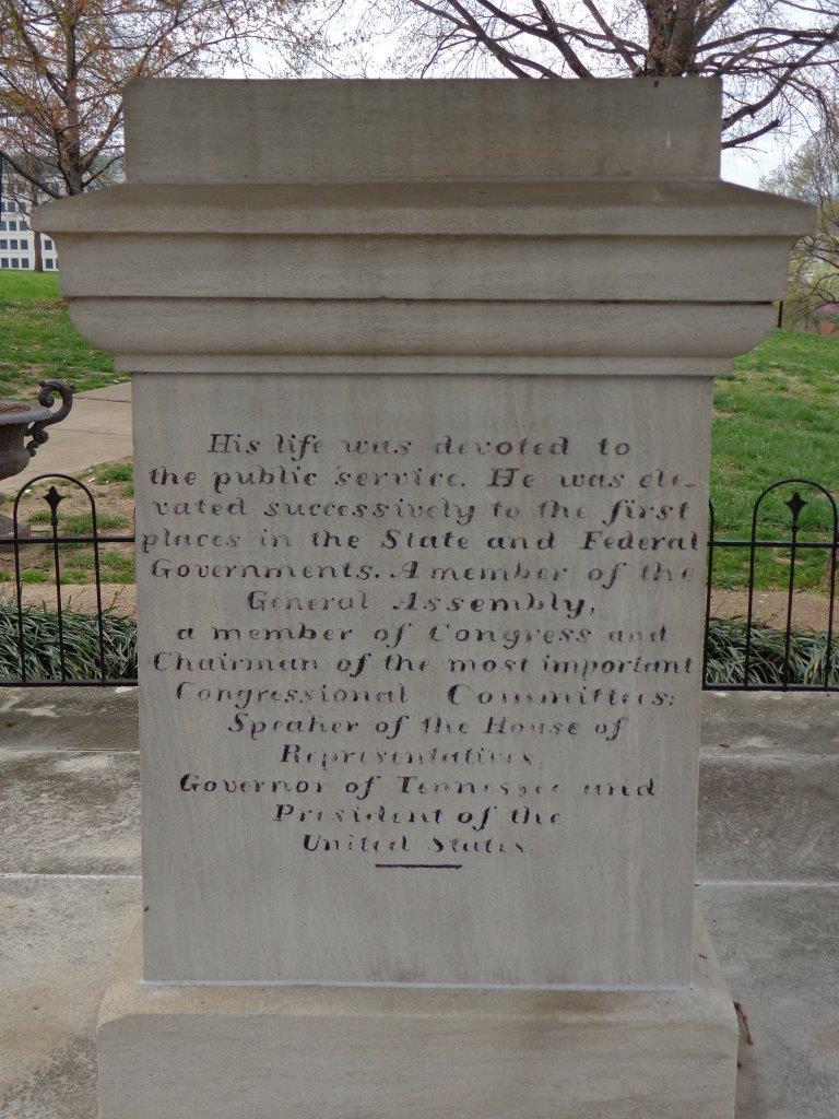 James Polk grave