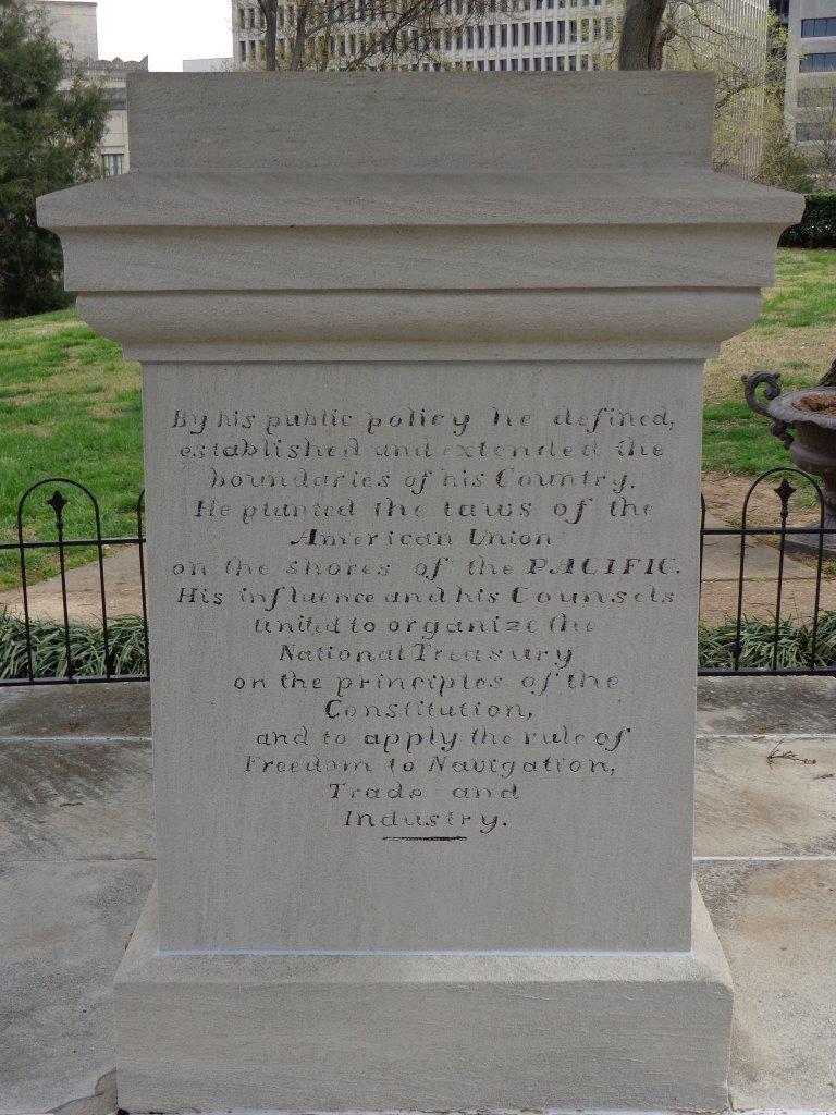 James Polk grave stone
