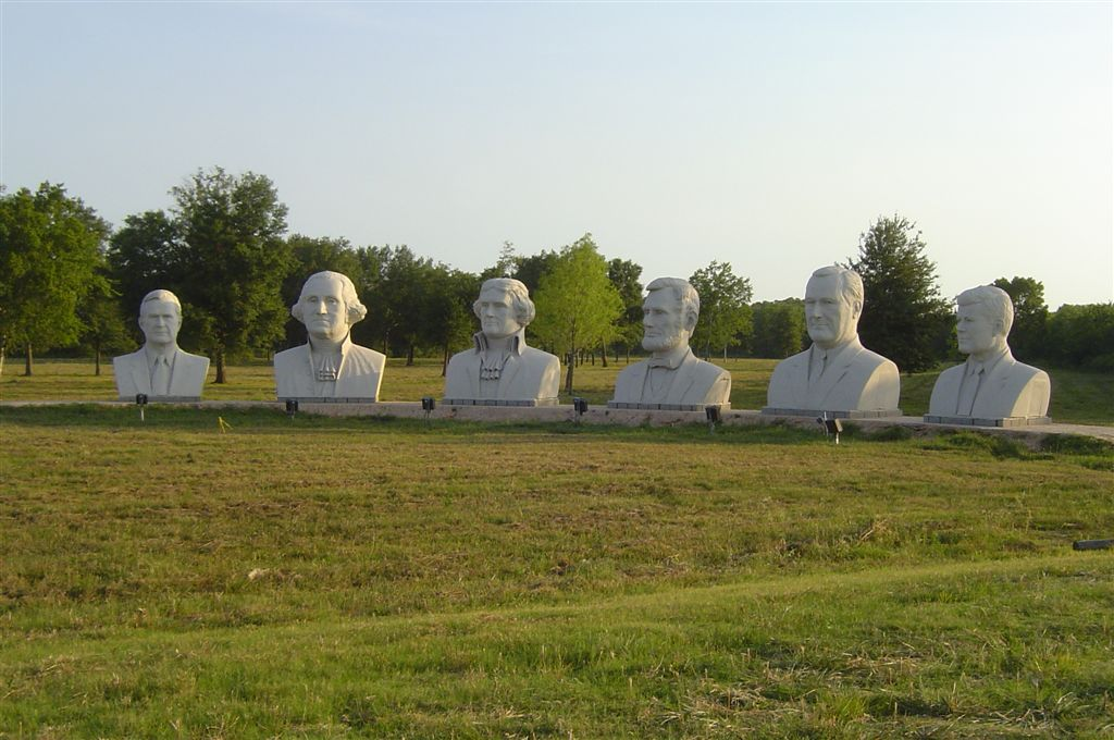 Presidential heads