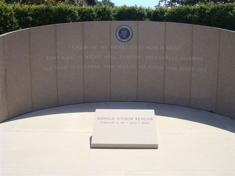 Reagan gravesite