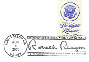 Reagan Library Stamp