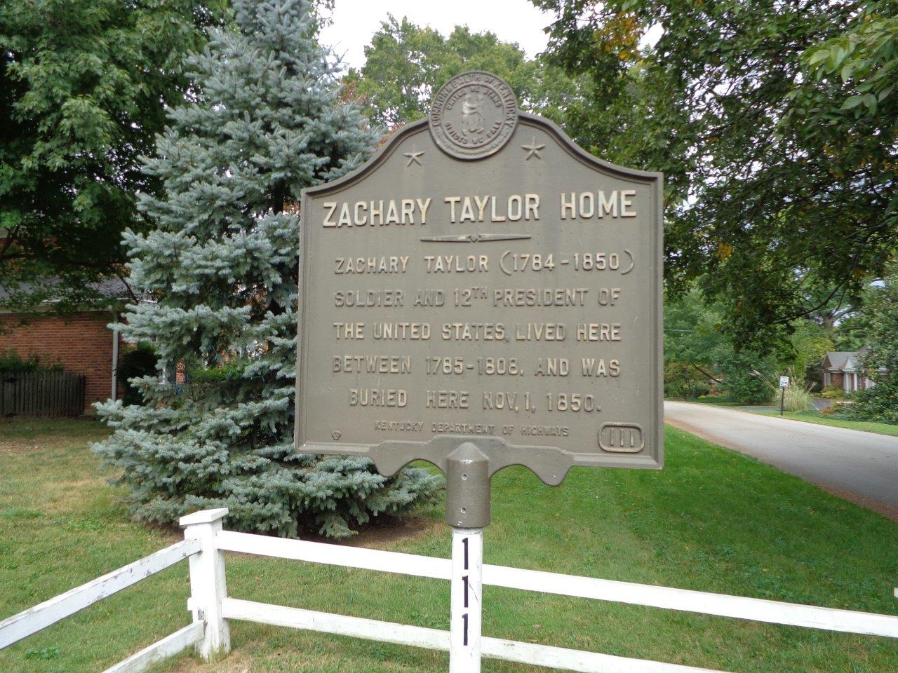 Zachary Taylor's Springfield in Louisville, KY