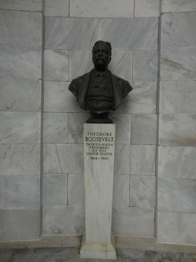 Theodore Roosevelt Bust in Niles, Ohio