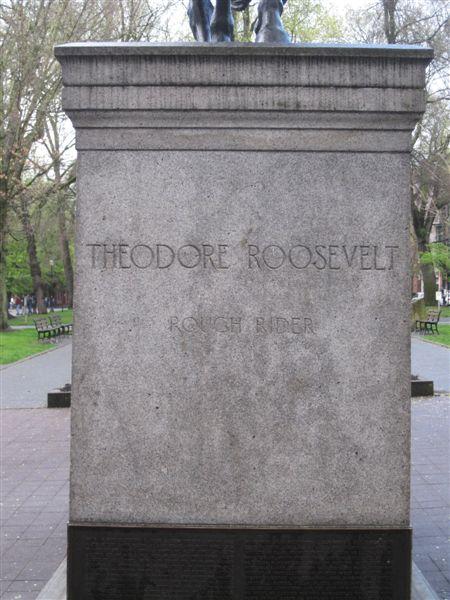 Theodore Roosevelt staute in Portland, Oregon