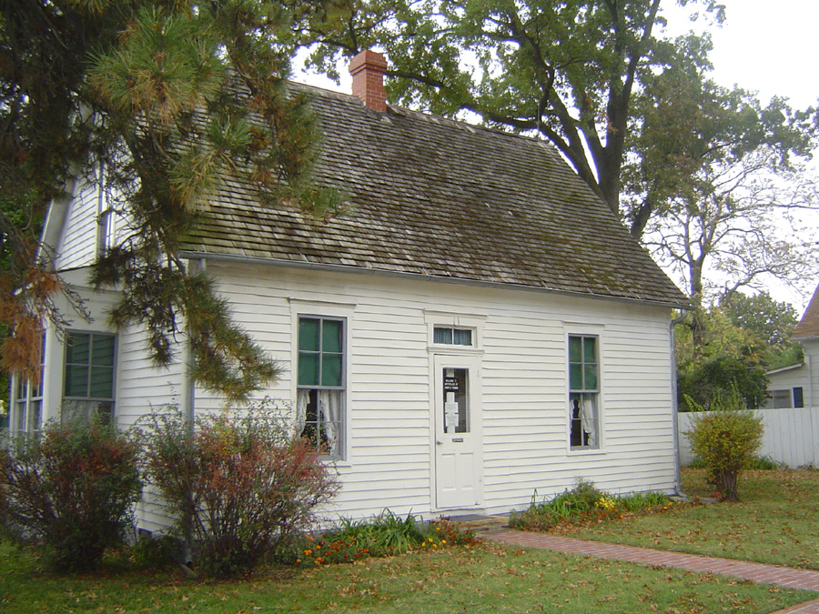 photo of Harry Truman's birthplace