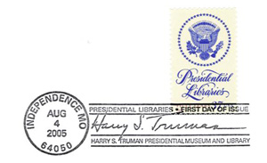 Truman Library Stamp